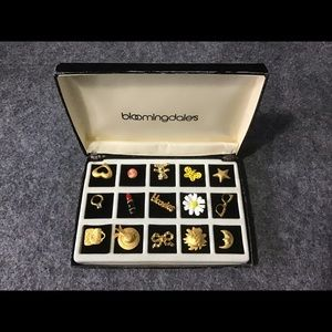 💖Vintage Bloomingdale's Pin Brooch Collection Set